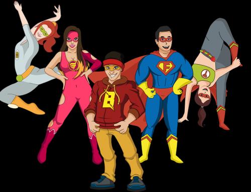 De superhelden van DanceCool VZW